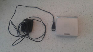 Gameboy Advance SP (Silver) w/ Charger