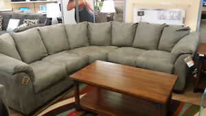 Previously Enjoyed Cobblestone Sectional