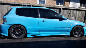 1992 honda civic part out BodyisNoGood lots of great aftermarket Cambridge Kitchener Area image 1