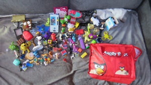 Angry Birds bag of toys(Yoshis,Catwoman,Star Wars, etc...)