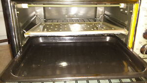 toaster oven almost new