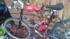 66cc motorized bike. $230 obo