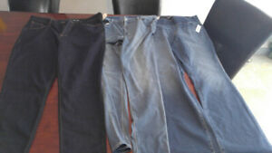 3 brand new pairs of old navy ladies jeans