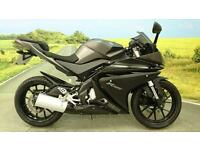 Yamaha YZF-R125 **2944 MILES, ONE FORMER OWNER, ABS, GEAR INDICATOR**