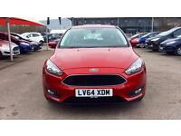 2014 Ford Focus 1.5 TDCi 120 Zetec 5dr Manual Diesel Hatchback
