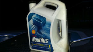 SHELL OUTBOARD OIL