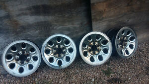 2007 chevy 1500 rims and capps
