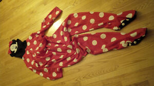 Minnie Mouse adult onesie