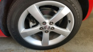 PONTIAC SOLSTICE PAINTED 18 INCH RIMS PERFECT CONDITION