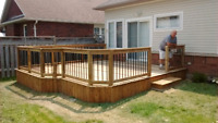 Any deck or patio outside renovation