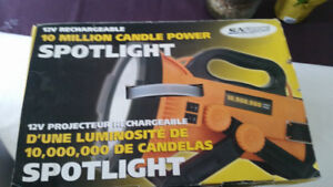 NEW!  Rechargeable Spotlight