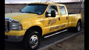 Towing Ford f350 2005 Lariat turbo diesel