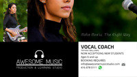 Vocal Lessons ( Private or Group)