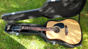 Simon and Patrick Wild Cherry 12 String Acoustic Guitar $350