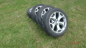 Suburu Forester Tires on Rims