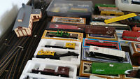 Malagash - large yard sale- with lots of MODEL TRAINS