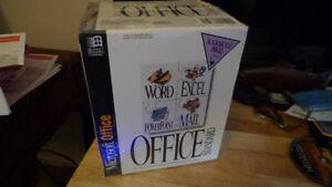 Microsoft Office 4.2 Full Version 1994 Sealed .