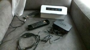 MXQ Pro TV Box with a double sided remote