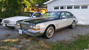 1982 Cadillac Seville with leather