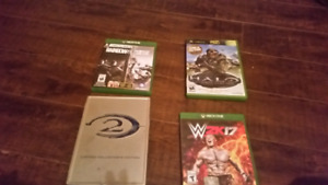 A few xbox one and xbox games