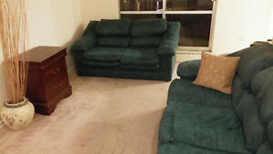 Furniture - Couch, recliner, couch and few others