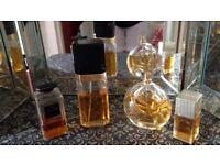 Vintage Designer Fragrances. £20 each or all for £50