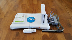 Wii System 3 games and wii fit board