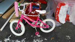Girls pink Nakamura Dream 16 inch bile
