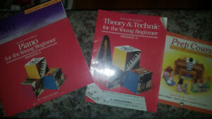 Piano Lesson Books 16 books in total