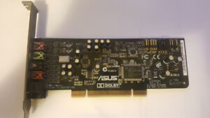 ASUS Xonar DG 5.1 Channels 24-bit 96KHz PCI Sound Card