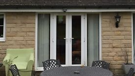 White PVC Patio Doors