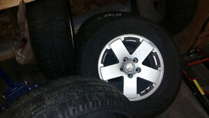 Jeep winter tires / mags