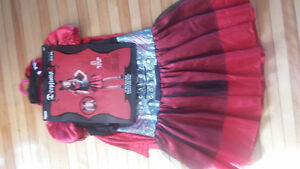 KIDS SIZE 14 + RED RIDING HOOD HALLOWEEN COSTUME