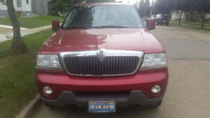 2003 Lincoln Aviator SUV, Crossover