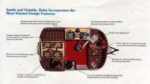 Boler cushions, and complete bunk parts!