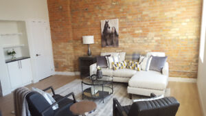 MAY 1-NEW LOFT DOWNTOWN-GRANITE-S/S-A/C-LAUNDRY-DISHWASHER