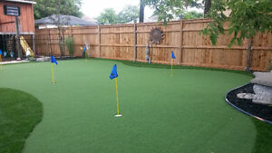 Synthetic Turf and Artificial Putting Greens