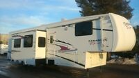 2007 Forest River Canadian Sport 385RLTS 5TH Wheel Toy Hauler London Ontario Preview
