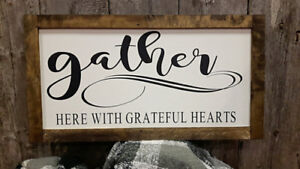 Handmade Farmhouse Signs and Plaques Made in NS
