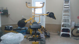 machine dentrainement     work out machine