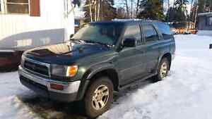 1997 Toyota 4 Runner Limited edition 70,000 km on new motor.
