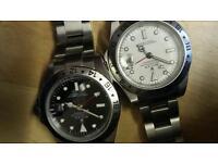 Unofficial rolex watches, rolex Explorer ii,, great working order, mint condition