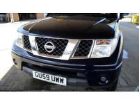2009 NISSAN NAVARA 2.5 DCI King Cab Pick Up Acenta 4WD NO VAT