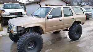 '94 4runner highly modified offroad rig!