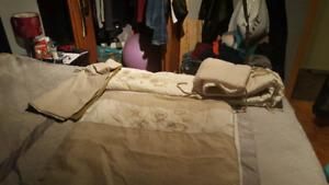 Ensemble de couverture de bassinette