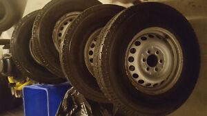 Sprinter tires 245/75/R16 with sensor with rims