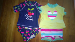 Baby swimsuits (12M and 18M)