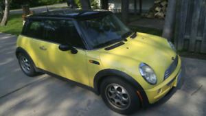 2004 Mini Cooper As Is - Automatic