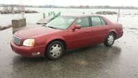 2005 CADILLAC DEVILLE  FULLY LOADED MINT CONDITION!! LOW KM