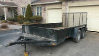 14' Landscape and Utility trailer